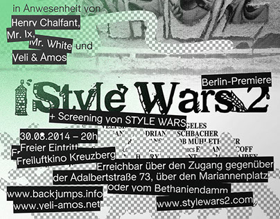 Backjumps/Stylewars 2 - Flyers & Posters