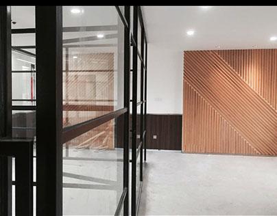 NIC电子办公大楼空间形象设计