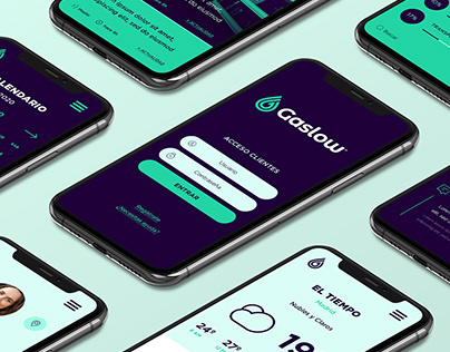 GASLOW - Branding / Visual Identity / Logo