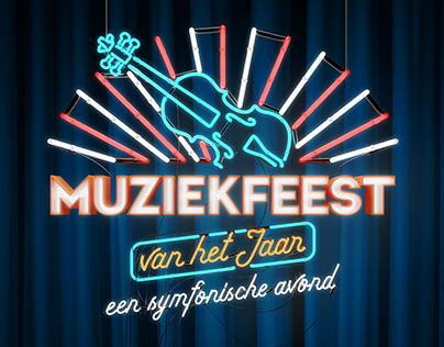 Logo for Muziekfeest van het jaar.