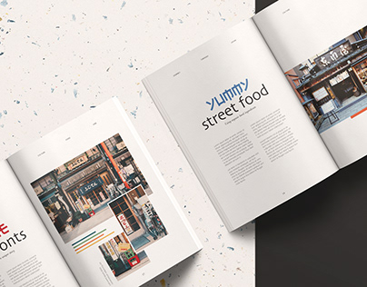 Travel Taste - Editorial Design