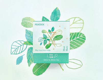 PEACOCK 7 TEA TIME Packaging