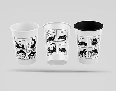 Комиксы на стаканчиках / Comics on cups