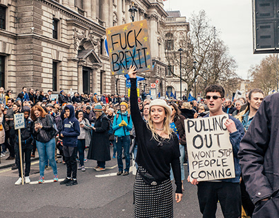 Anti-Brexit-Demonstration - London - März 2019