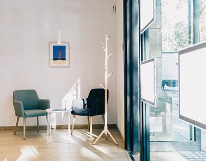 Diseño de Interiores de las oficinas Optimum