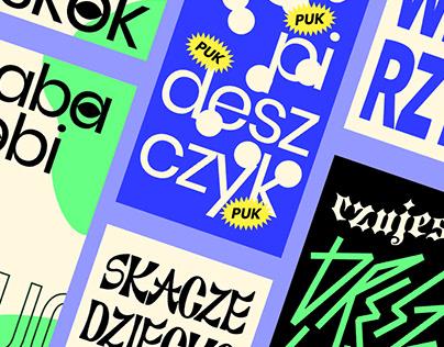Typographic Instastory animation