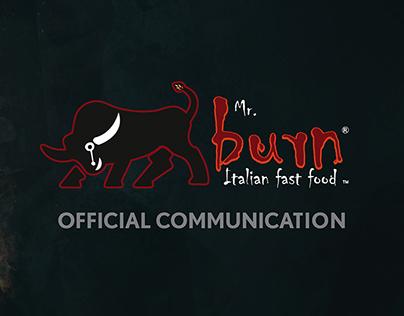 Mr. Burn - Italian Fast Food