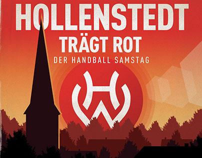 Hollenstedt Trägt Rot - Sports Poster