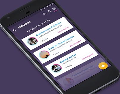 QTasker - App Concept