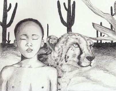 Ilustración lapíz