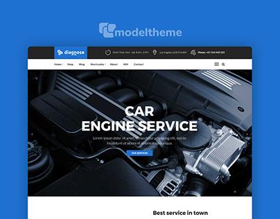 Diagnose - Auto Repair | Mechanic | Workshop Theme