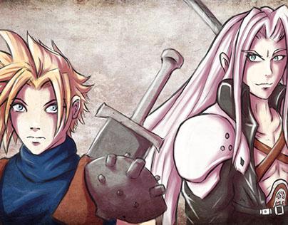 Cloud & Sephiroth (Final Fantasy 7 tribute)