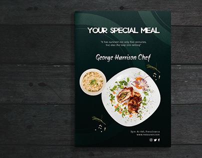 RestaurantFood MenuDesign