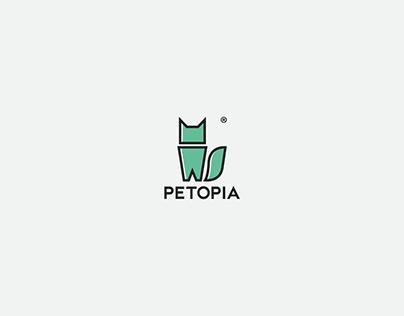 PETOPIA LOGO DESIGN