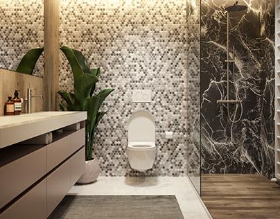 CGI: Bathroom #1   Vienna