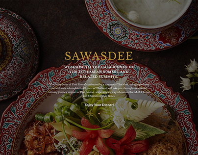 35th ASEAN Summit Gala Dinner Website