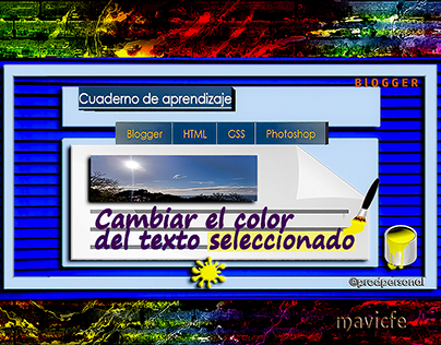 Changing Text Selection Color _Prodpersonal Blog