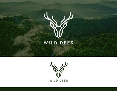 Minimal Logo | Wild Deer Logo