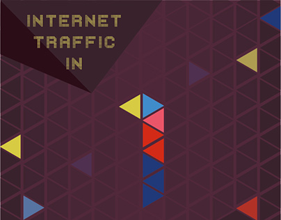 Internet traffic in 1 second : infographic
