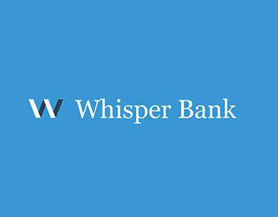 Whisper Bank Mobile App