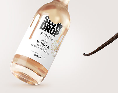 SLOW DROP syrup . . .