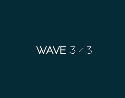 ________WAVE 3/3 /////Brand Identity