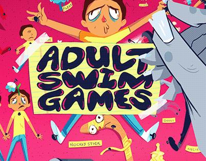 "Adult Swim ""Pocket Mortys"" ID"