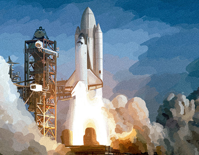 Space Shuttle Animation