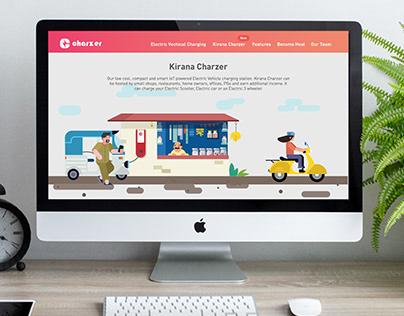 Charzer Website Design