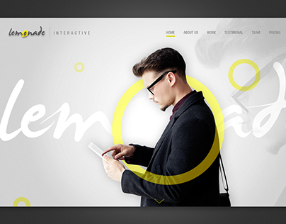 Lemonade Interactive Branding & web page design