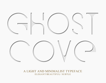 Ghost Cove | Font