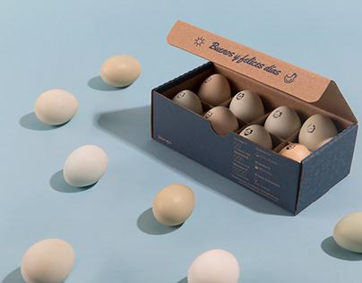 Pangú, packaging for eggs