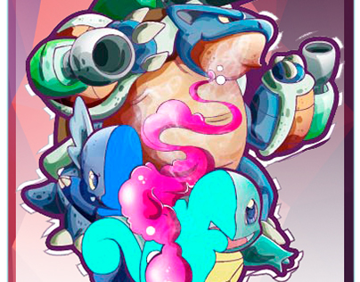 Squirtle Evolution