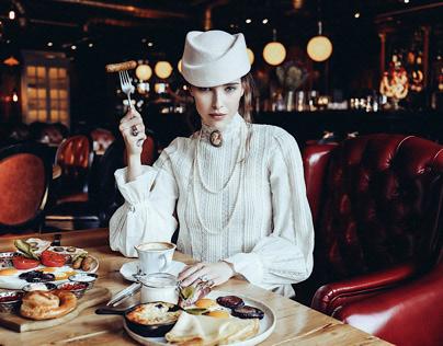 """Campaign for Maison Dellos restaurant """"Matreshka"""""""