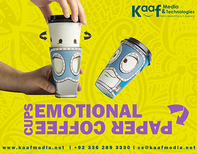 Emotional Coffee Paper Cups