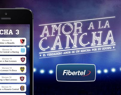 Fibertel - App Amor a la Cancha
