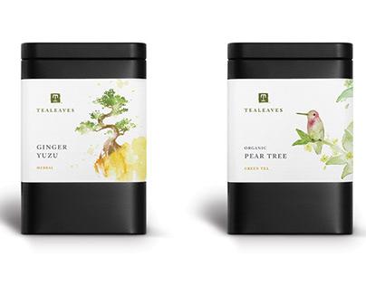 Tea Tin Label Design