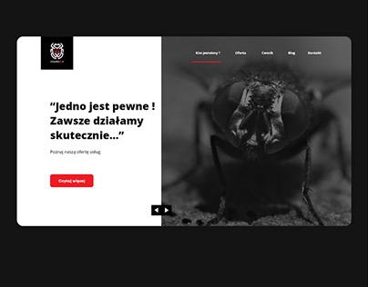 Insektor - project website