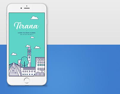 App screens illustrations