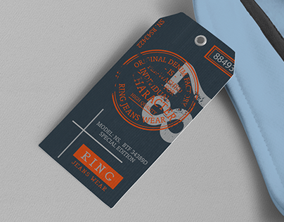 Ring Hang Tag & Label