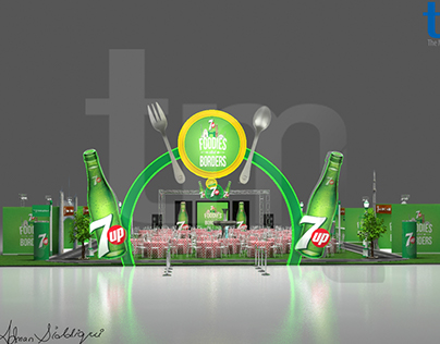7up foodies with borders