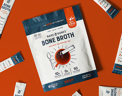 Bare Bones Packaging and Brand Identity