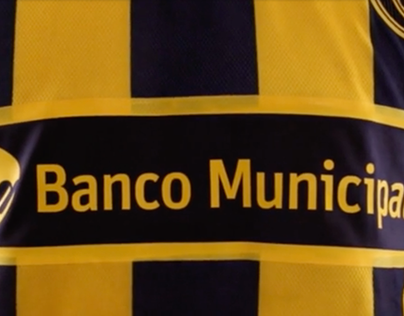 "Banco Municipal ""Sponsor oficial de Rosario Central"""