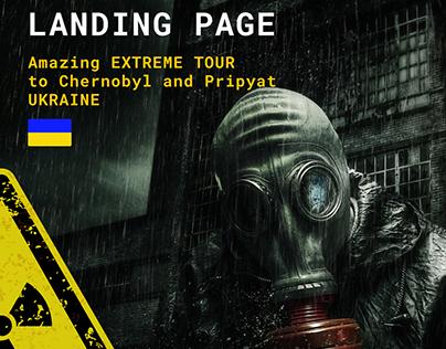 Extreme tour in Chernobyl & Pripyat / Landing page