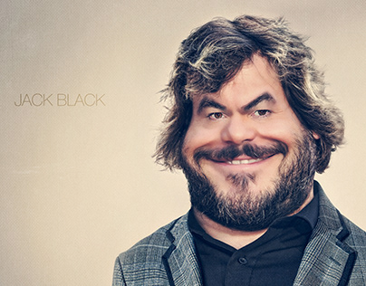 Jack Black / Art / Illustration / Retouch