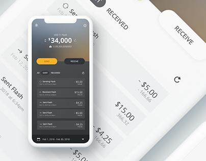 Flash Mobile Wallet App
