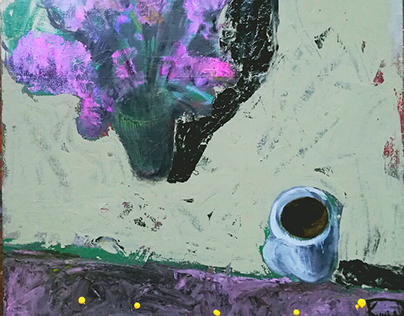 Lilac and coffee 100X100 2018