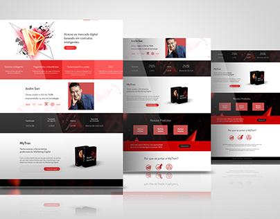 Digital Marketer Personwordpress website