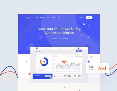 Inspo Web Concept - Free Template