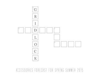 Gridlock- Accessories Trend Forecast SS15